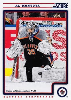 Al Montoya Hockey Card 2014-15 O-Pee-chee #154 Al Montoya