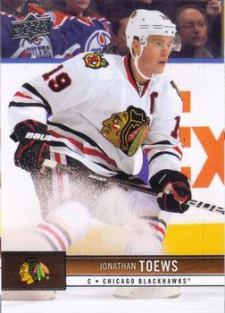 2012-13 Upper Deck #35 Jonathan Toews Front