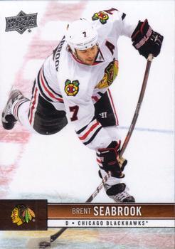 2012-13 Upper Deck #36 Brent Seabrook Front