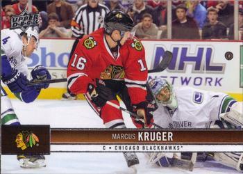 2012-13 Upper Deck #40 Marcus Kruger Front