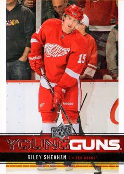 2012-13 Upper Deck #222 Riley Sheahan Front