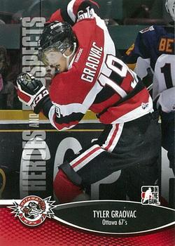 2012-13 In The Game Heroes and Prospects #73 Tyler Graovac Front