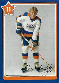 1982-83 Neilson's Gretzky #11 General Equipment Care Front