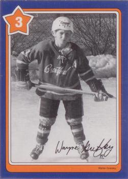 1982-83 Neilson's Gretzky #3 Offsides Front