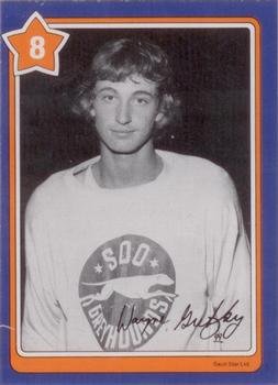 1982-83 Neilson's Gretzky #8 The Helmet Front