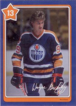1982-83 Neilson's Gretzky #13 The Hip Check Front