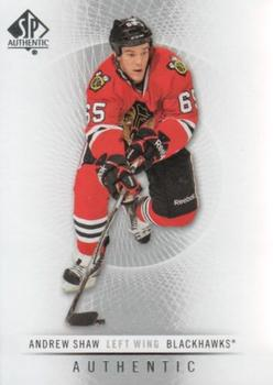 2012-13 SP Authentic #52 Andrew Shaw Front
