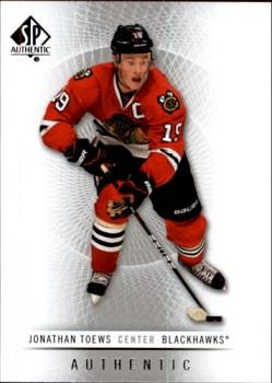 2012-13 SP Authentic #121 Jonathan Toews Front