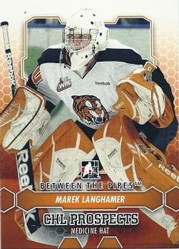 2012-13 In The Game Between The Pipes #35 Marek Langhamer Front