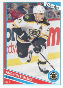 2013-14 O-Pee-Chee #4 Andrew Ference Front