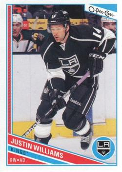 2013-14 O-Pee-Chee #27 Justin Williams Front