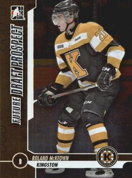 2012-13 In The Game Draft Prospects #81 Roland McKeown Front