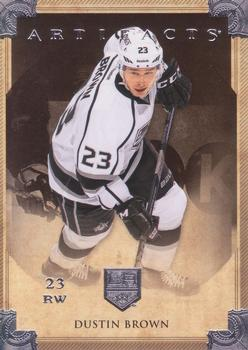 2013-14 Upper Deck Artifacts #25 Dustin Brown Front