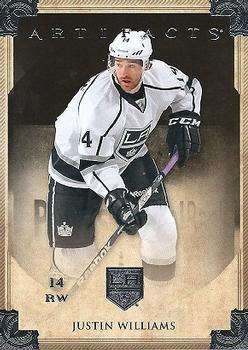 2013-14 Upper Deck Artifacts #44 Justin Williams Front