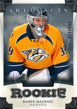 2013-14 Upper Deck Artifacts #RED236 Marek Mazanec Front