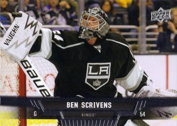 2013-14 Upper Deck #268 Ben Scrivens Front