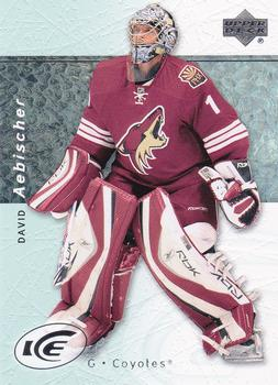 2007-08 Upper Deck Ice #96 David Aebischer Front