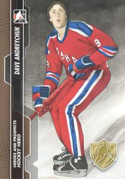 2013-14 In The Game Heroes and Prospects #128 Dave Andreychuk Front