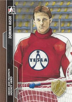 2013-14 In The Game Heroes and Prospects #131 Dominik Hasek Front
