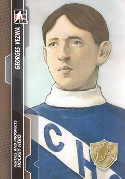 2013-14 In The Game Heroes and Prospects #134 Georges Vezina Front