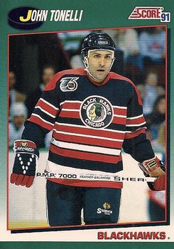 1991-92 Score Rookie and Traded #17T John Tonelli Front