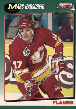 1991-92 Score Rookie and Traded #33T Marc Habscheid Front