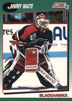 1991-92 Score Rookie and Traded #82T Jimmy Waite Front