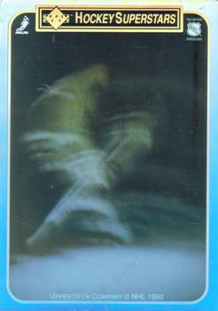 1990-91 Upper Deck - Holograms/Stickers #NNO Steve Yzerman Front