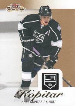 2013-14 Fleer Showcase #41 Anze Kopitar Front