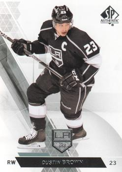 2013-14 SP Authentic #18 Dustin Brown Front
