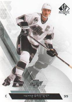2013-14 SP Authentic #50 Wayne Gretzky Front