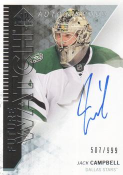 2013-14 SP Authentic #303 Jack Campbell Front