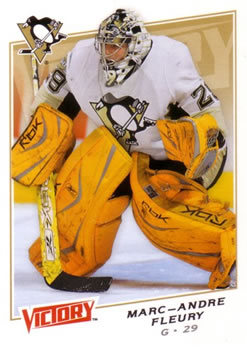 2008-09 Upper Deck Victory #39 Marc-Andre Fleury Front