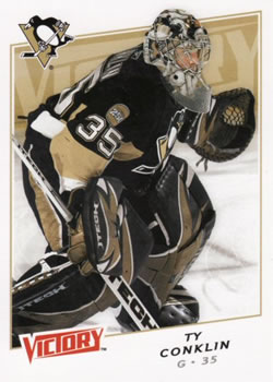 2008-09 Upper Deck Victory #43 Ty Conklin Front
