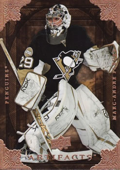 2008-09 Upper Deck Artifacts #22 Marc-Andre Fleury Front