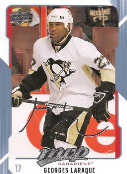 2008-09 Upper Deck MVP #162 Georges Laraque Front