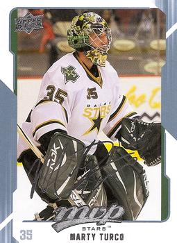 2008-09 Upper Deck MVP #93 Marty Turco Front