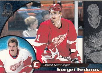 1998-99 Pacific Omega #79 Sergei Fedorov Front