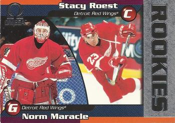 1998-99 Pacific Omega #89 Norm Maracle / Stacy Roest Front