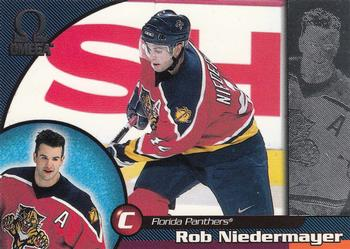 1998-99 Pacific Omega #105 Rob Niedermayer Front