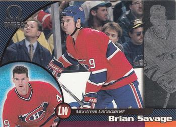 1998-99 Pacific Omega #126 Brian Savage Front