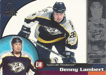 1998-99 Pacific Omega #131 Denny Lambert Front