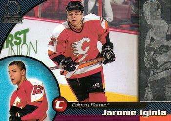 1998-99 Pacific Omega #33 Jarome Iginla Front