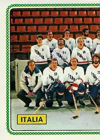 1979-80 Panini World Championship Stickers #385 Team Italy Front