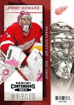 2013-14 Panini Contenders #46 Jimmy Howard Front