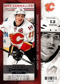 2013-14 Panini Contenders #91 Mike Cammalleri Front
