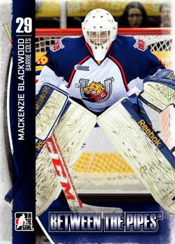 2013-14 In The Game Between the Pipes #60 Mackenzie Blackwood Front