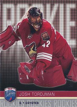2008-09 Upper Deck Be a Player #251 Josh Tordjman Front