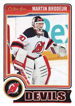 2014-15 O-Pee-Chee #1 Martin Brodeur Front