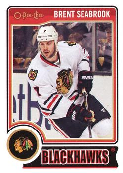2014-15 O-Pee-Chee #10 Brent Seabrook Front